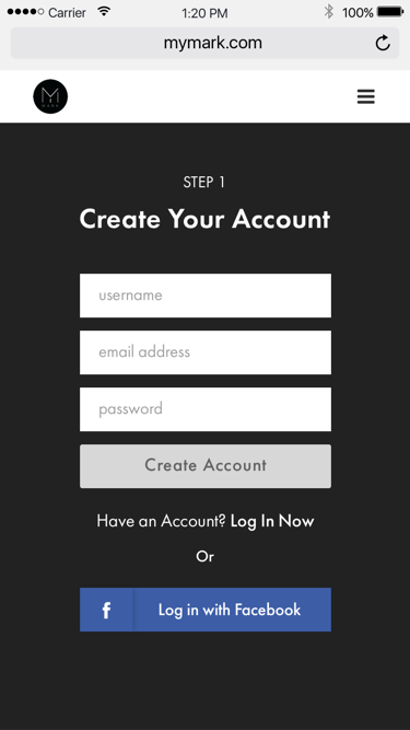 Create Account Crop