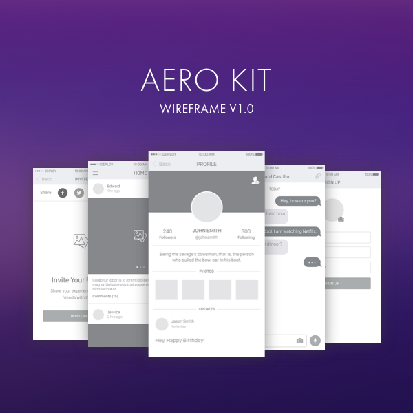Aero Wireframe kit